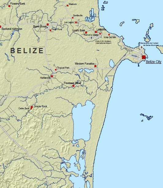 Belize Maps | CHARIM