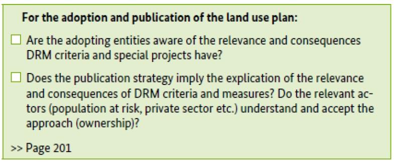 7 4 Useful documents on Land use planning | CHARIM